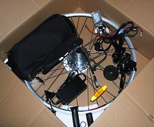 biciclettta elettrica kit elettrico  elettrifica ruota anteriore 26 piombo