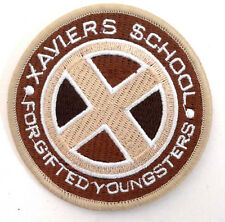 """X-MEN Xavier's School for Gifted Youngsters 3"""" TAN Logo Patch (XMPA-01-T)"""