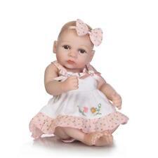 "10"" Preemie Bebes Reborn Girls Doll Silicone Lifelike Baby Dolls Bath Toys【US】"
