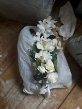 Artificial wedding flowers bride bouquet