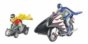 Batcycle mit 2 Figuren Batman TV Series 1:12 Hot Wheels