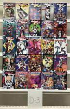 Harley Quinn Dc 25 Lot Comic Book Comics Set Run Collection Box