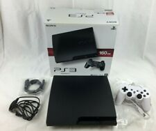 Sony PLAYSTATION 3 Slim 160GB Console CECH-3003A W/ Controller/Cables - Boxed
