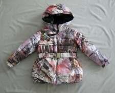 Nwt Carbone Girls Reversible 'Paris' Puffer Coat Sz 116 Wow!