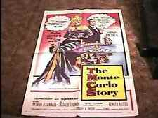 MONTE CARLO STORY MOVIE POSTER '57 MARLENE DIETRICH