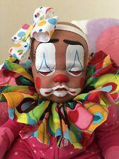 Reborn cuddle baby clown OOAK