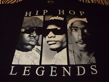 Hip Hop Legends Shirt ( Used Size Xl ) Very Nice Condition!