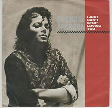 "MICHAEL JACKSON I JUST CAN'T STOP LOVING YOU/BABY BE MINE 7"" 45 GIRI"