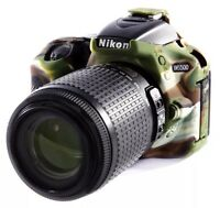 easyCover Nikon D5500 / D5600 Protective Camera Cover Camouflage Silicone NWB