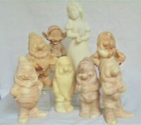 Walt Disney Cameonyx Snow White & the 7 Dwarfs - Set of Eight Figurines