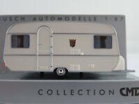 Busch 44960 Tabbert-Wohnwagen (1971) in weiß 1:87/H0 NEU/OVP