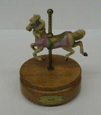 VTG Carousel Horse Music Box May