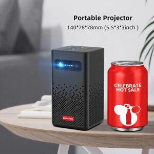 MINI Portable Pocket BYINTEK P20  4K 3D LED DLP Android 9.0 Smart Projector Gif