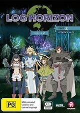 Log Horizon Season 2 Part 2 (Eps 14-25) NEW R4 DVD