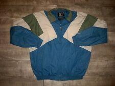 Vintage Starter Full Zip Windbreaker Colorblock Jacket Coat Men's Size Xlarge XL