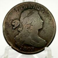 1803 1C DRAPED BUST LARGE CENT Small Date Large Fraction S-258 Variety - Scares.