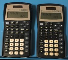Lot of 2 Texas Instruments TI-30X IIS Calculators