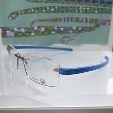 NEW TAG HEUER TITANIUM EYEGLASSES REFLEX 3941 010 56 BLUE AZUR