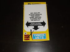 1981 TOPPS GIANT PHOTO CARDS BOX YANKEES METS 36 UNOPENED PACKS REGGIE JACKSON ?