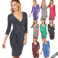 Viscose Polka Dot Hand-wash Only Dresses for Women