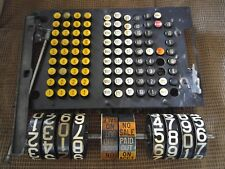 national cash register steampunk parts roller numbers & keys steampunk parts