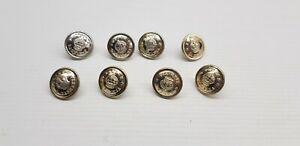 Tasmania Police button lot small silver colour Tasmanian Australian collectable