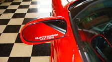 """Corvette """"Objects In Mirror Are Losing"""" Decals"""
