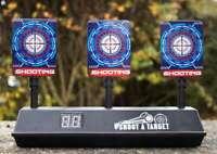 3 Target Shooting Target Game Novelty Auto Reset Air Rifle Airgun Kids Toy Gift