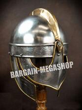 Medieval SCA LARP The Viking Wolf - Valsgärde Style Helmet Reenactment r77