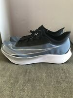 Nike Air Zoom Fly 3 Vaporweave Running Shoes BLUE RARE AT8240-401 Mens Sz 14 New