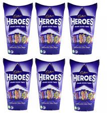 6 x Cadbury Heroes Chocolate Carton 290g - Gift Box Bulk Buy! FREE SHIPPING!