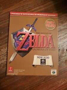 The Legend Of Zelda Ocarina Of Time  Prima's 1998 Official Strategy Guide