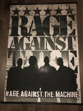 Rage Against The Machine Scroll Poster 2000 Giant GENX Entertainment 41x31