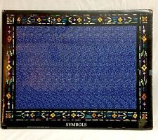 """Nos Vintage 3D Stereogram, """"Symbols"""" 16 x 20 Magic Eye style Psychedelic Poster"""