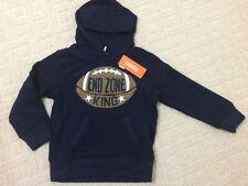 NWT NEW Gymboree Boys Hometown Hero End Zone King Football Hoodie Sweatshirt S 4