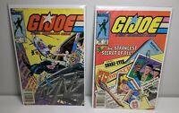 G.I. Joe #26-27 (Aug-Sep 1984, Marvel) FIRST PRINT NEWSSTAND