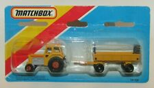 Matchbox Superfast TP-108 Tractor & Trailer Yellow MIB SEALED HTF