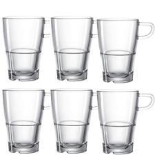 Leonardo Latte Macchiato Tasse Senso 6er Set Kaffeetasse Glas Teetasse Becher