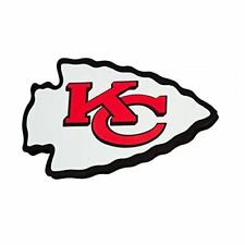 Kansas City Chiefs Magnet NFL 3D Foam Logo Fan Fave NFL Foam Magnet