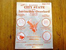 Judges Guild D&D module : City State of the Invincible Overlord : D&D : 1978