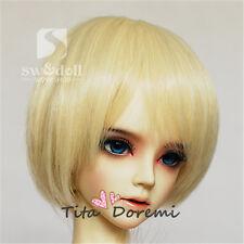 1 3 8-9 Bjd Wig Dal Pullip Msd Dd Doc Sd Luts Dollfie Doll wigs blonde Ls13