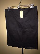 To The Max Black Pleated Hem Skirt 4