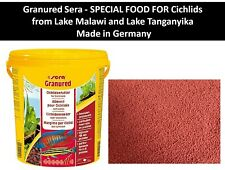 SPECIAL FOOD FOR Cichlids Malawi and Tanganyika - SERA Granured - protein 46.5%
