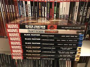 Black Panther TPB Lot Set Priest Hudlin Complete Collection Marvel Nine Books