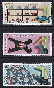 Romania 2006 MNH Mi 6151-6153 Sc 4902-4904 Art by Ciprian Paleologu **
