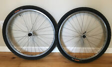 "Shimano Deore XT M747 Wheelset, 26"" rim brake, Classic mtb bike Wheels W/ Tires"