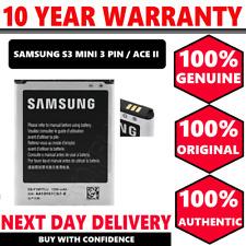 100% Genuine Samsung Galaxy S3 MINI AND Galaxy ACE 2 Battery 1500 MAH 3PIN