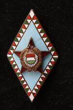 Hungary Hungarian Badge Army General Military Academy Award Badge Medal School