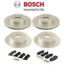 Front & Rear Disc Brake Rotors & Pad Sets Bosch KIT FOR Jeep Liberty 2003-2007