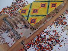 Peak Dale Basic Bead Loom Kit Jewelery Design Beads Weaving Patterns